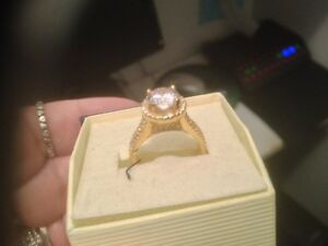 new without tag 18k gold over 925 sterling silver Kitchener / Waterloo Kitchener Area image 1