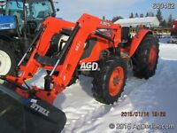 2012 Kubota M8560 4WD Tractor with Loader