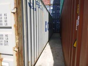 Used shipping containers delivered to Werribee Werribee Wyndham Area Preview