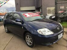 2004 Toyota Corolla ZZE122R Ascent 4 Speed Automatic Wagon Brooklyn Brimbank Area Preview
