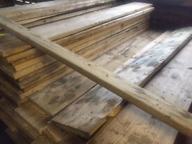 RECLAIMED TIMBER 12x2 BOARDS /PLANKS, DRY BARN STORED, STRAIGHT & TRUE, ONLY HAD V.LIGHT USE