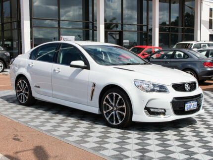 2016 Holden Commodore VF II MY16 SS V Heron White 6 Speed Sports Automatic Sedan Alfred Cove Melville Area Preview