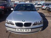BMW 318I ES 53 REG 4DR SILVER