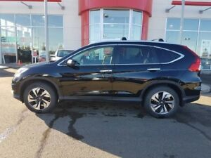 2015 Honda CR-V Touring - B/U Cam + Right Side Cam, Bluetooth +