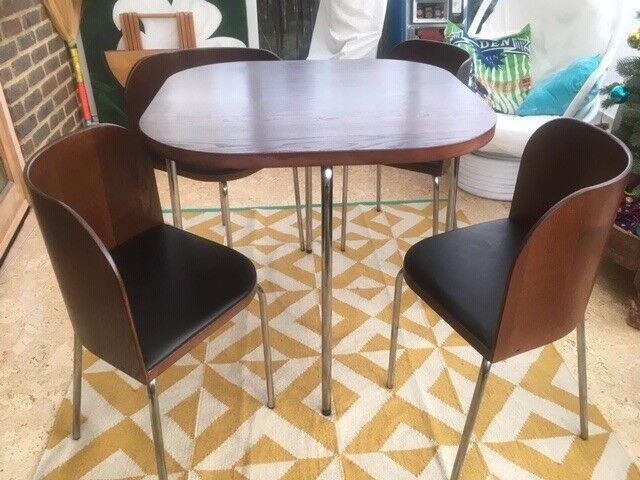 Vintage Ikea Fusion dining Table and 4 chairs | in ...