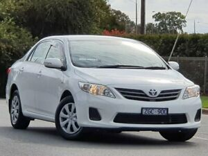 2012 Toyota Corolla ZRE152R MY11 Ascent White 4 Speed Automatic Sedan Wodonga Wodonga Area Preview