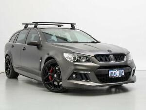 2013 Holden Special Vehicles ClubSport Gen F R8 Tourer Grey 6 Speed Auto Active Sequential Wagon