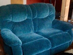 Lazy-Boy Couch Loveseat and Chair set For Sale