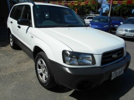 2003 Subaru Forester MY03 X White 4 Speed Automatic Wagon Woodville Charles Sturt Area Preview