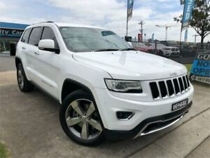 2013 Jeep Grand Cherokee WK MY2014 Limited White 8 Speed Sports Automatic Wagon Mulgrave Hawkesbury Area Preview