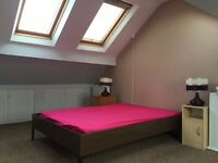 Double Attic Room, 10 mins to City Centre £65 per week