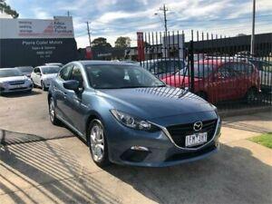 2015 Mazda 3 BM Neo Blue 6 Speed Automatic Hatchback