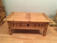 Coffee table, TV stand and side tables