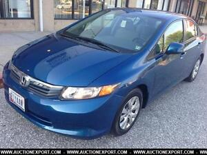 2012 Honda Civic LX AUTO* A/C CRUISE CONTROL-BLUETOOTH ONLY 28K