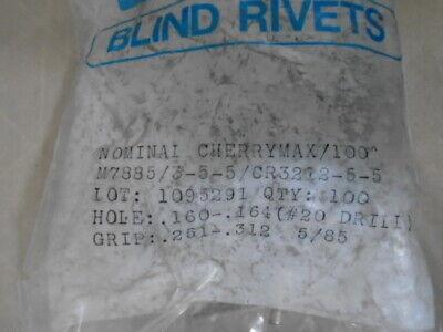 Voi-shan Cherry Max Cr3212-5-5 Rivets 100 Ea Package