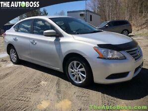 2015 Nissan Sentra SV CERTIFIED! BLUETOOTH! BACKUP CAM! ALLOYS!