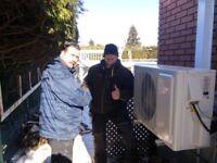 Vente thermopompe Centrale variable -30 degré écoénergétique