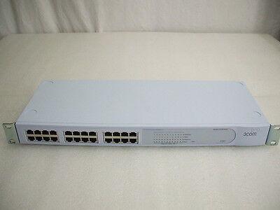 3Com 2024 3C16471-US 24-Port 100Mbps Ethernet Switch