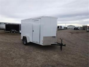 6 X 10 BY WELLS CARGO - LOADED W/OPTIONS FOR ONLY $3,999 TAX IN!