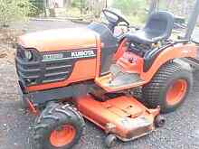 KUBOTA BX 1800 4X4 DIESEL MOWER AND TRAILER Petrie Pine Rivers Area Preview