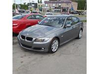 BMW 323I 2011 AUTOMATIC CLEAN CARPROOF CUIR, TOIT, A/C, MAGS