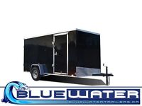 EX DLX SINGLE AXLE CARGO TRAILER!! ALL LED LIGHTS!!!
