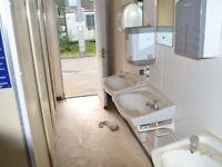 16' x 8' Anti Vandal Toilet Building portable £2000 + VAT