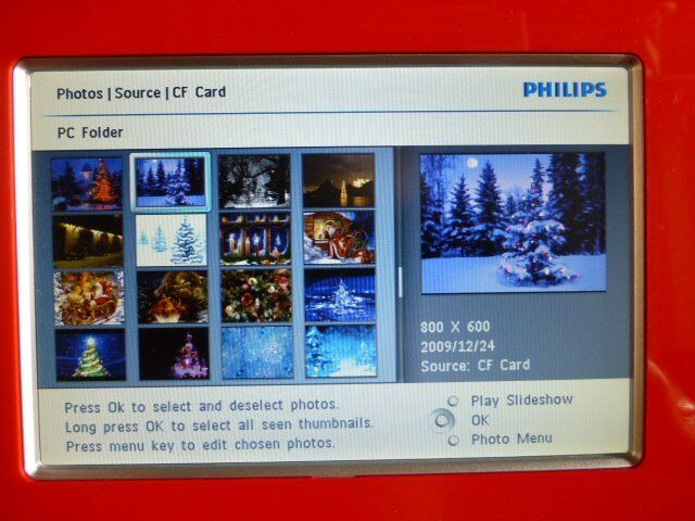 """Philips 8"""" Photo Digital Frame Displayin Stanley, County DurhamGumtree - Philips 8"""" Photo Digital Frame display. Fully working and looks like new, Built in memory, 14 transition effects, and slots for compact flash, sd, mmc, xd, and memory stick memory cards. Upload pictures through a usb cable. Runs off AC mains cable..."""