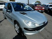 2002 Peugeot 206 T1 MY02 XT Silver 5 Speed Manual Hatchback Enfield Port Adelaide Area Preview