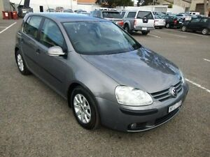 2007 Volkswagen Golf 1K MY08 Upgrade 2.0 TDI Comfortline Grey 6 Speed Direct Shift Hatchback Maidstone Maribyrnong Area Preview