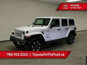 2018 Jeep Wrangler Unlimited UNLIMITED SAHARA; LOW KM, LEATHER,