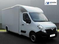 2014 Vauxhall Movano F3500 L3H1 P/C CDTI Diesel white Manual