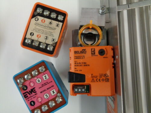Trol A Temp MSTN  EWC MAN Honeywell damper motor to Belimo upgrade Kit