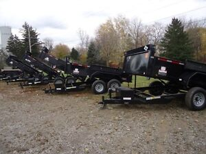 2016 FORCE HDL8612TA4 -12000 LBS Tandem Hydraulic Dump Trailer London Ontario image 9