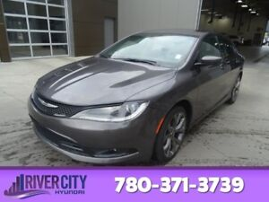 2015 Chrysler 200 S Leather,  Heated Seats,  Panoramic Roof,  Ba