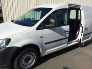 2013 Volkswagen Caddy 2K MY12 TDI250 SE White 5 Speed Manual Van West Croydon Charles Sturt Area Preview