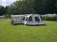Outwell Norfolk Lake poly-cotton tent, sleeps 8