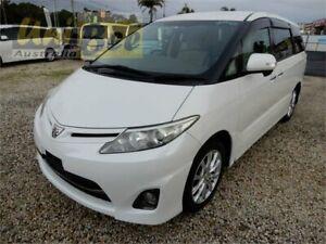 2010 Toyota Estima ACR50W Aeras Pearl White Constant Variable Wagon Moorabbin Kingston Area Preview