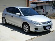2009 Hyundai i30 FD MY09 SX Silver 4 Speed Automatic Hatchback Mount Lawley Stirling Area Preview