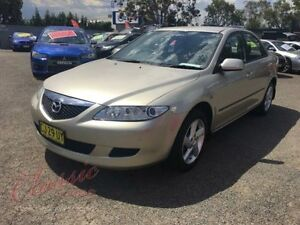 2004 Mazda 6 GG Classic Gold 4 Speed Auto Activematic Sedan Lansvale Liverpool Area Preview