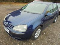 Volkswagen Golf SE TDI (105BHP) (blue) 2004