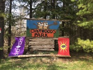 40 foot Park Trailer located in Shelburne