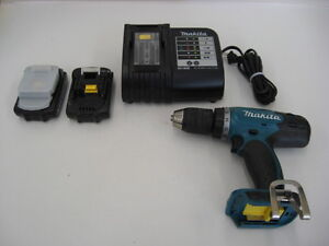 Makita BDF453 Cordless Drill with Batteries, Charger, and Case