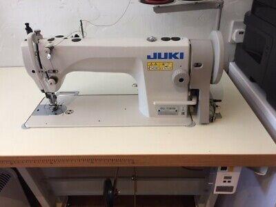 JUKI DU1181N walking foot Industrial sewing machine, complete with table