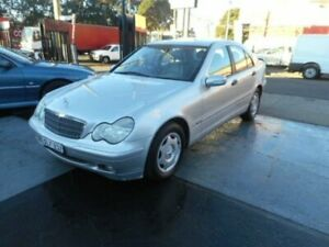 2002 Mercedes-Benz C180 Kompressor W203 Classic Sedan 4dr Auto 5sp 1.8S Silver Automatic Sedan Croydon Burwood Area Preview