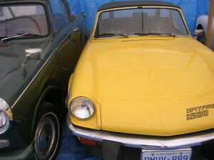 1979 and 1976 Triumph Spitfire UPDATED