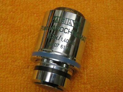 Zeiss Axioskop Plan Apochromat 63x 1.40 Oil 44 07 61 Objective