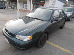 2000 Toyota Corolla Auto Grey 270,000km Selling as is