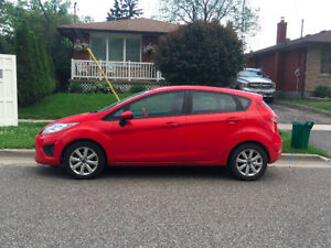 2012 Red Ford Fiesta