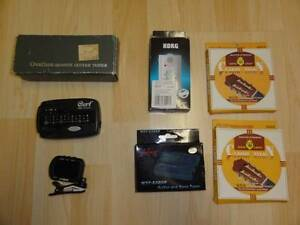 various guitar TUNERS & nylon string set (from $6 - $30) Marrickville Marrickville Area Preview